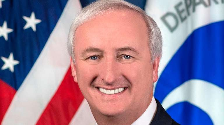 Deputy transportation secretary Jeffrey Rosen is shown in