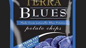 Hain Celestial's Terra Blues Potato Chips