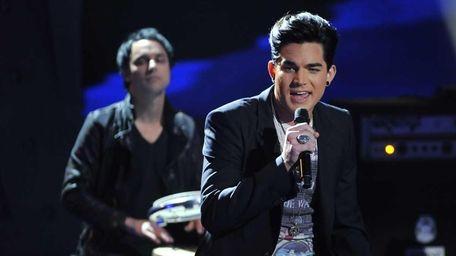 AMERICAN IDOL: Adam Lambert performs