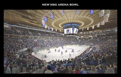 A proposed design of the renovations at Madison
