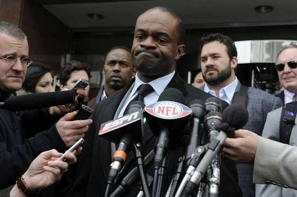 NFL Players Association executive director DeMaurice Smith speaks