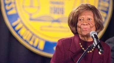 Dr. Hazel N. Dukes president of the NAACP