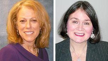 Lynn Drucker and Janine Logan