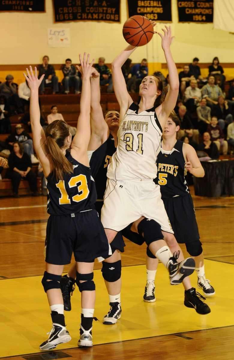 St. Anthony's Michele Impellizeri attempts a shot between