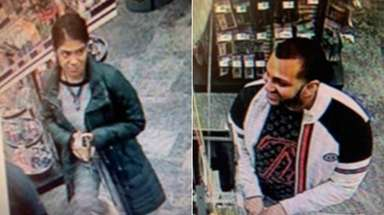 Police released the image of a couple who,