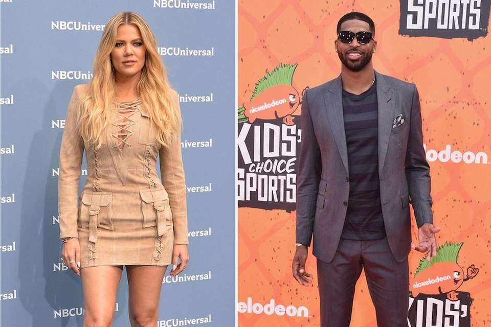 Khloe Kardashian and Cleveland Cavaliers center Tristan Thompson