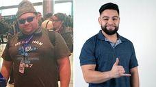 Wilson Velasquez, 27, of Brentwood, at left in