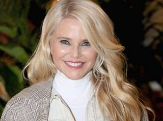 Christie Brinkley at the IMG Lounge in