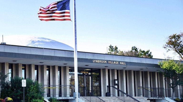 Lynbrook Village Hall on Oct. 12, 2017.