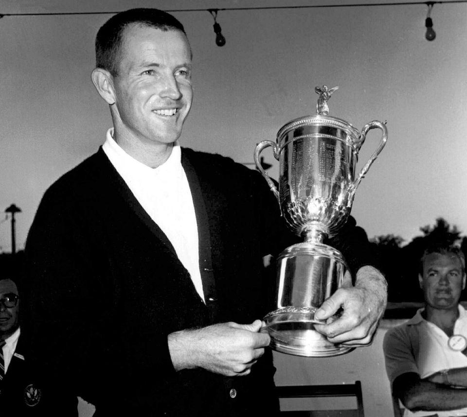 Gene Littler, whose fluid swing carried him to