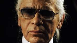 Chanel's iconic couturier, Karl Lagerfeld, whose accomplished designs