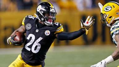 Pittsburgh Steelers running back Le'Veon Bell on Nov.