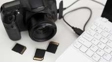 New memory cards for your new camera are