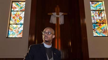 The Rev. Malcolm Byrd, 35, is pastor of