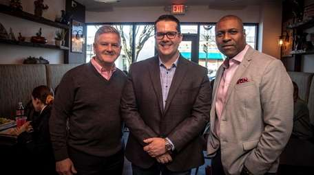 Westbury-based GettinLocal business partners Peter Daly, Vito Pagano