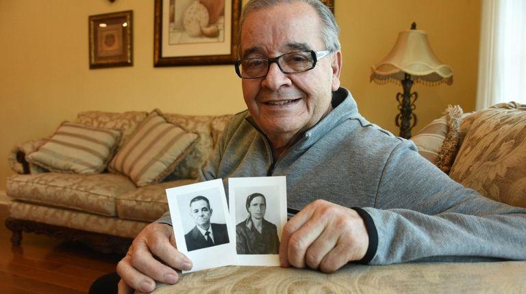 Assemb. Anthony D'Urso, at his Port Washington home