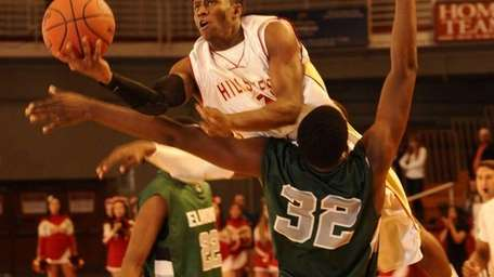 Half Hollow Hills West's Tavon Sledge is charged