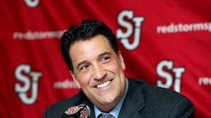 St. John's University basketball coach Steve Lavin is