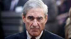 Robert Mueller is seen in 2013.