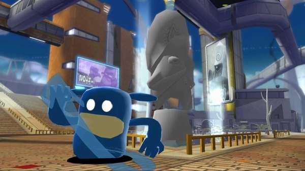 In this video game, a main character Blob