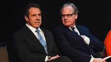 From left, Gov. Andrew M. Cuomo and Empire