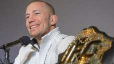 Georges St-Pierre announces his retirement from mixed martial