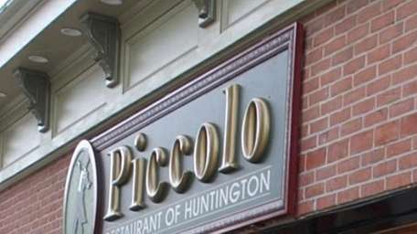 Piccolo restaurant in Huntington, as seen from the