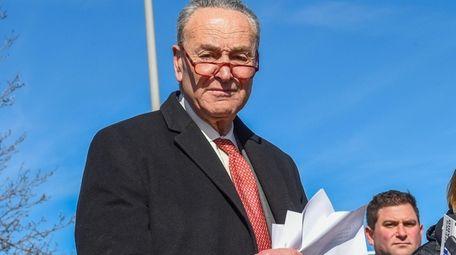 U.S. Sen. Chuck Schumer said he will push