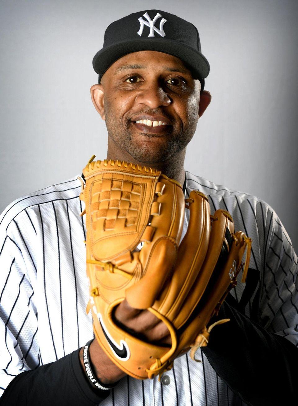 New York Yankees C.C. Sabathia during Spring Training