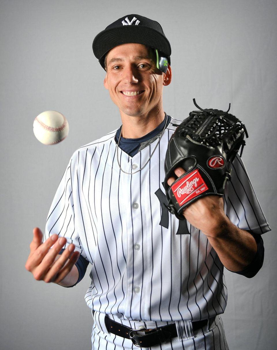 New York Yankees Danny Farquhar during Spring Training