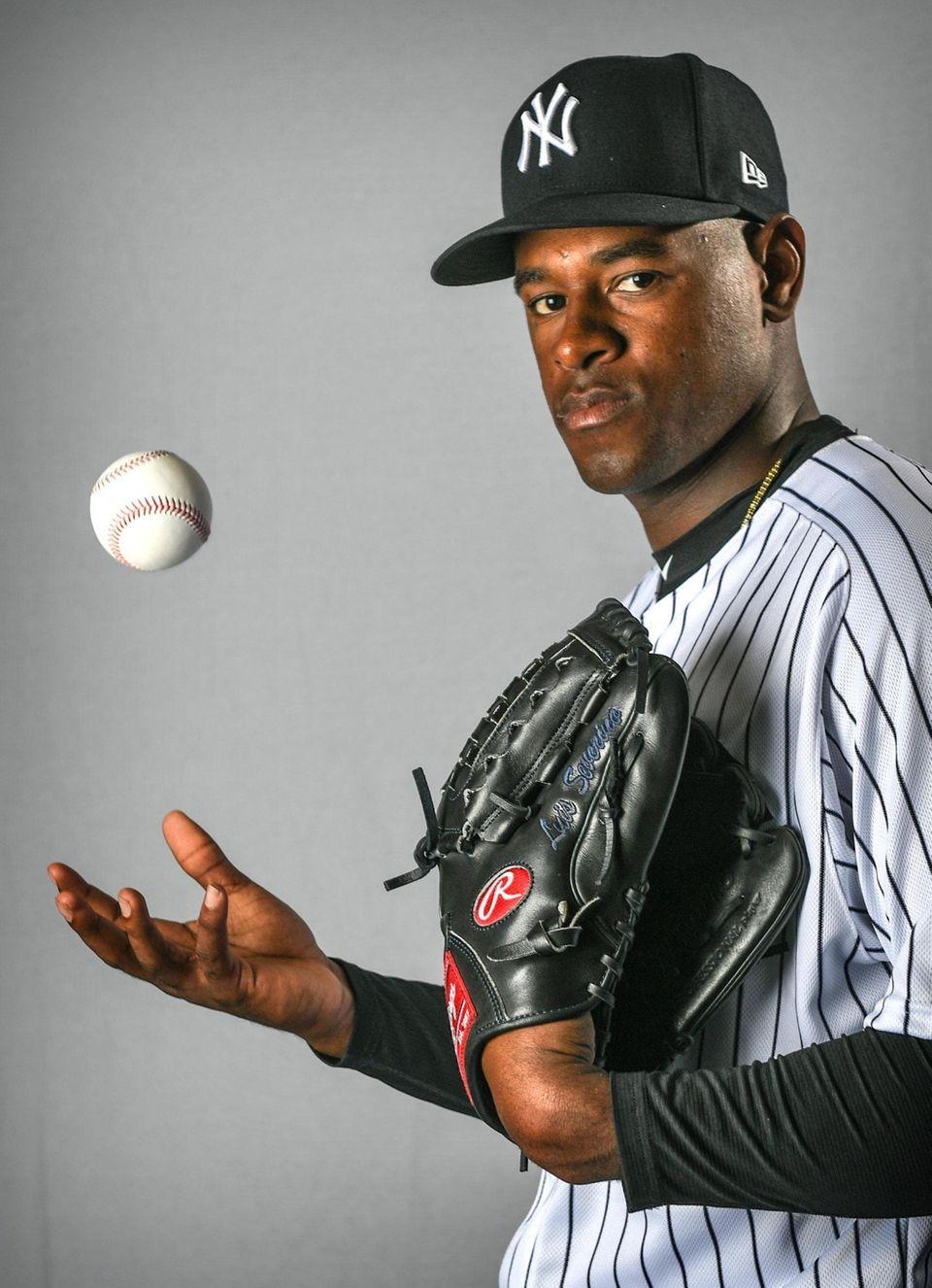 New York Yankees Luis Severino during Spring Training