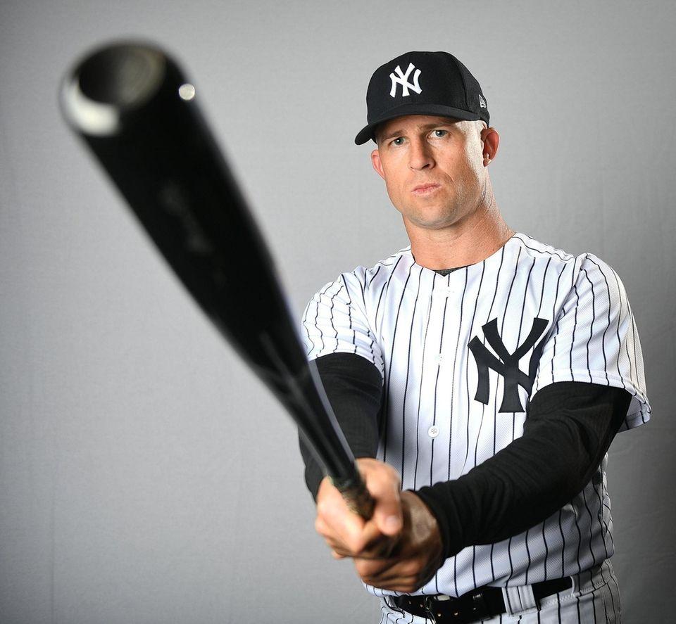 New York Yankees Brett Gardner during Spring Training