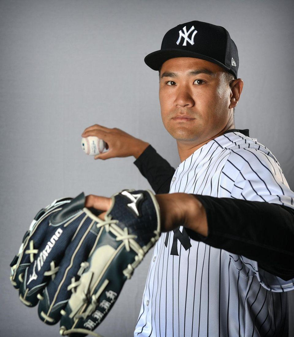 New York Yankees Masahiro Tanaka during Spring Training
