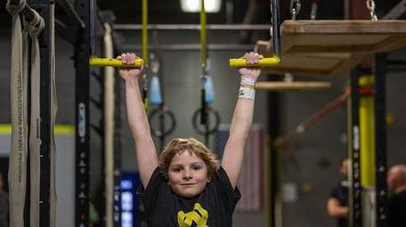 David Futeran, 10, of Huntington, is scheduled to