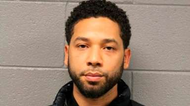 Jussie Smollett in a Feb. 21, 2019 photo