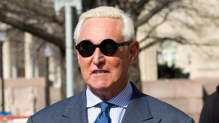 Former campaign adviser for President Donald Trump, Roger