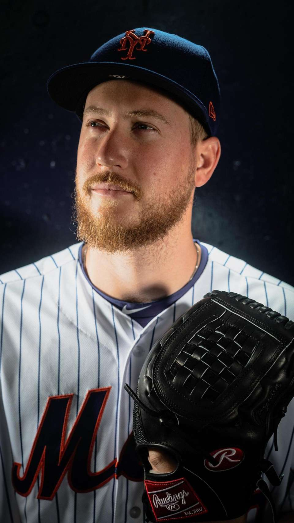 New York Mets pitcher Eric Hanhold during spring