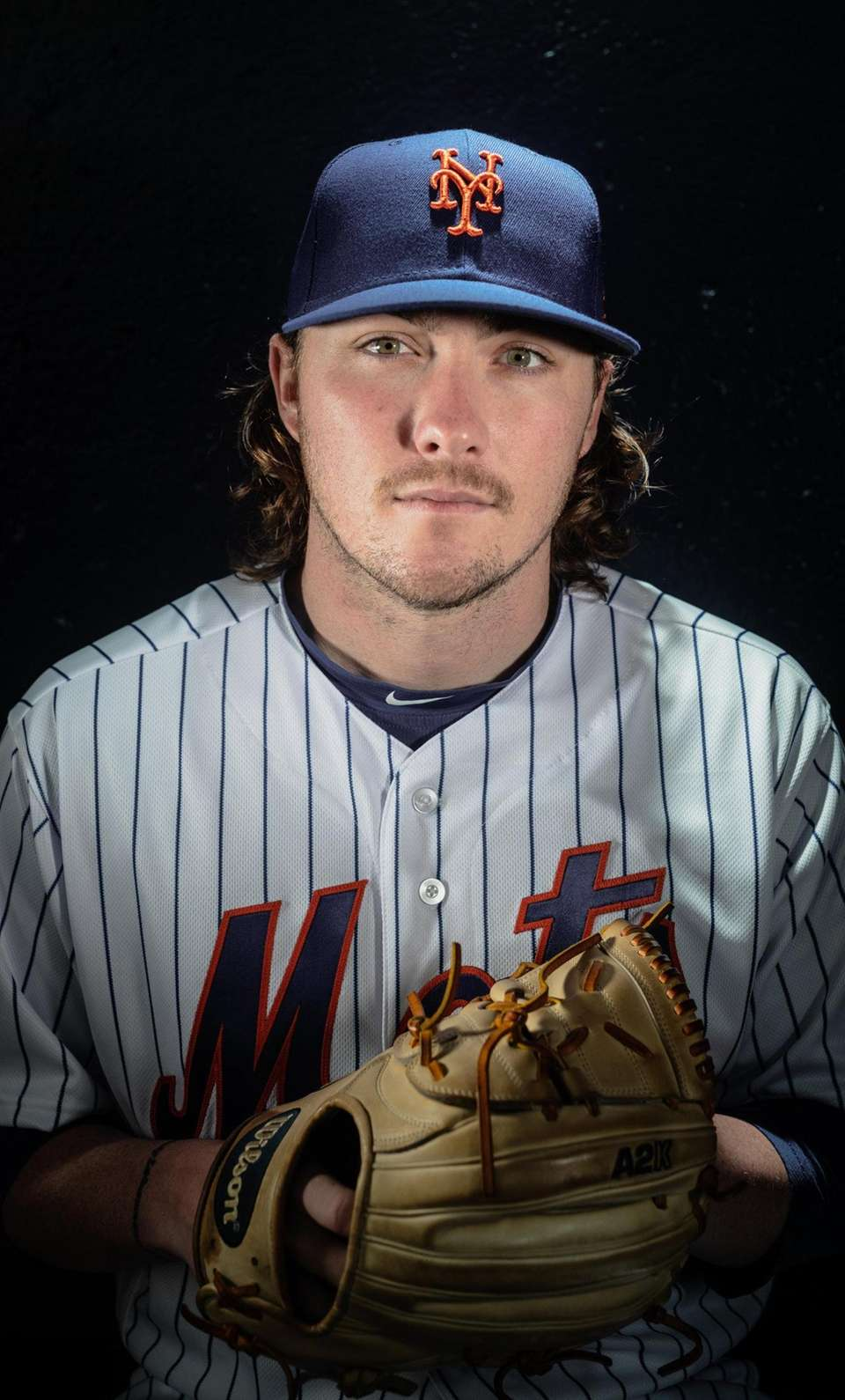 New York Mets pitcher P.J. Conlon during spring