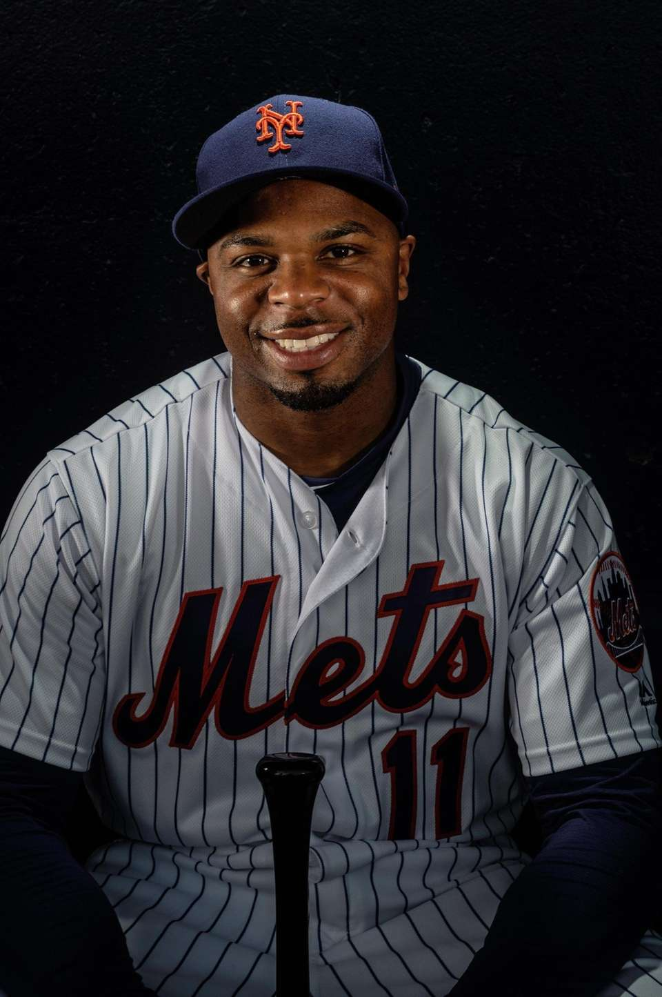 New York Mets outfielder Rajai Davis during spring