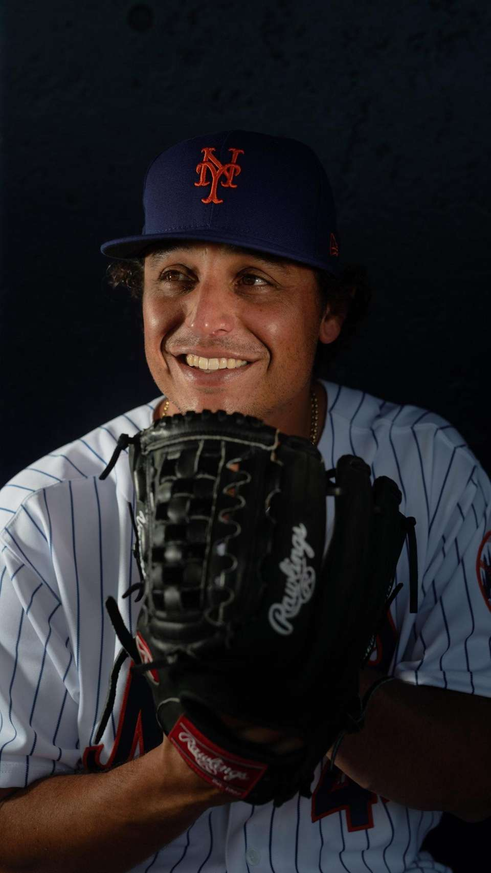 New York Mets pitcher Jason Vargas during spring