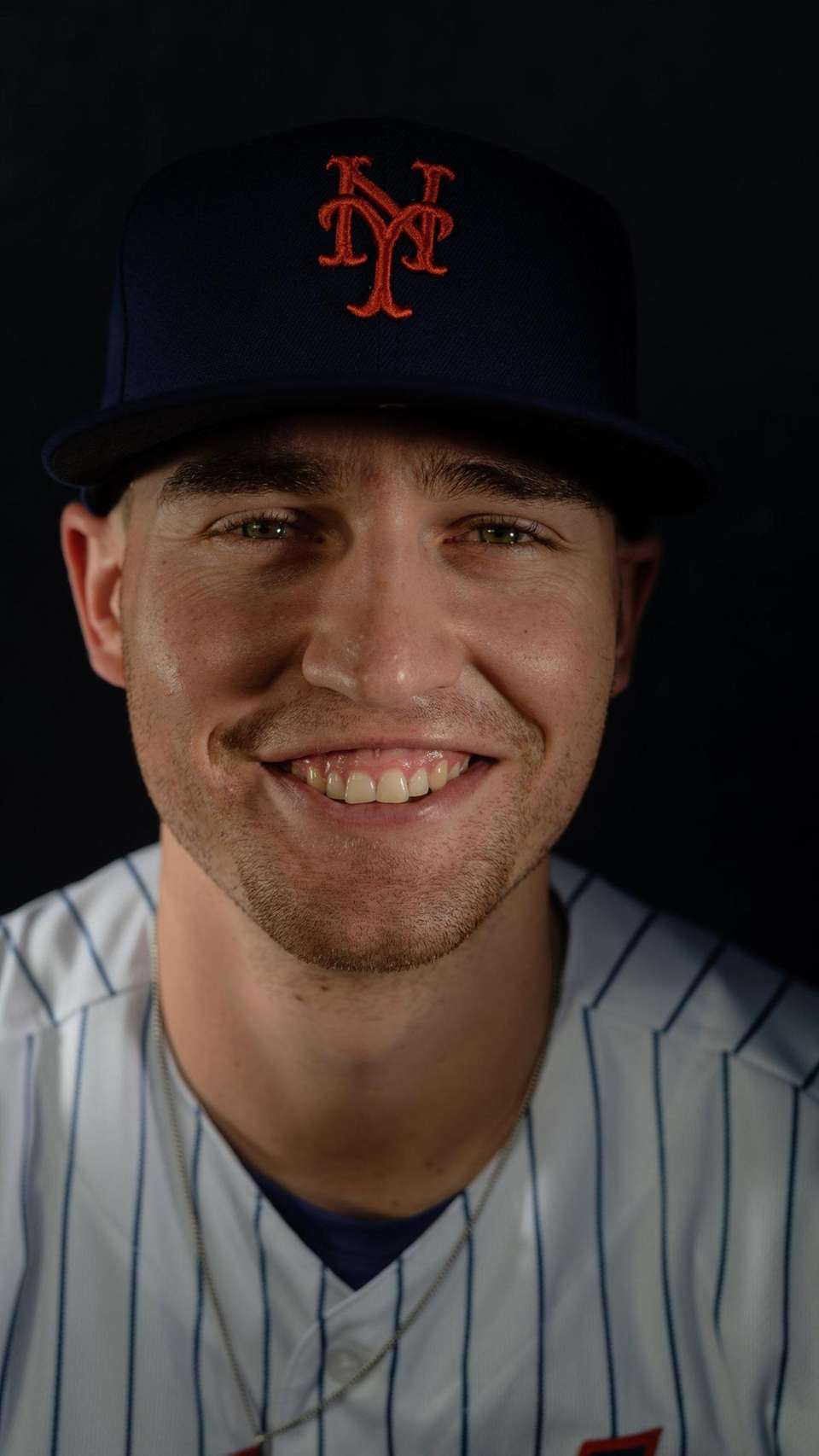 New York Mets outfielder Brandon Nimmo during spring