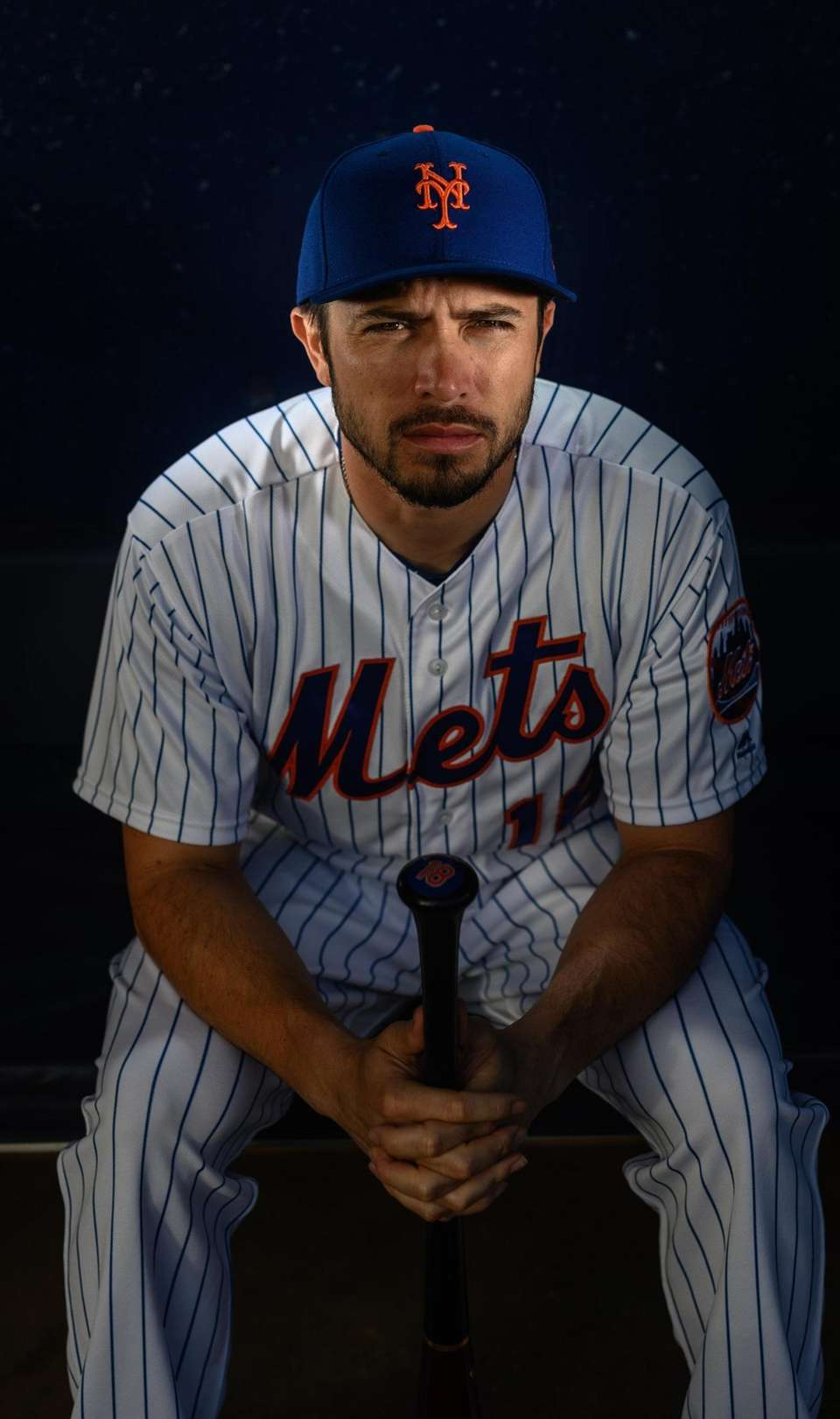 New York Mets catcher Travis d'Arnaud during spring