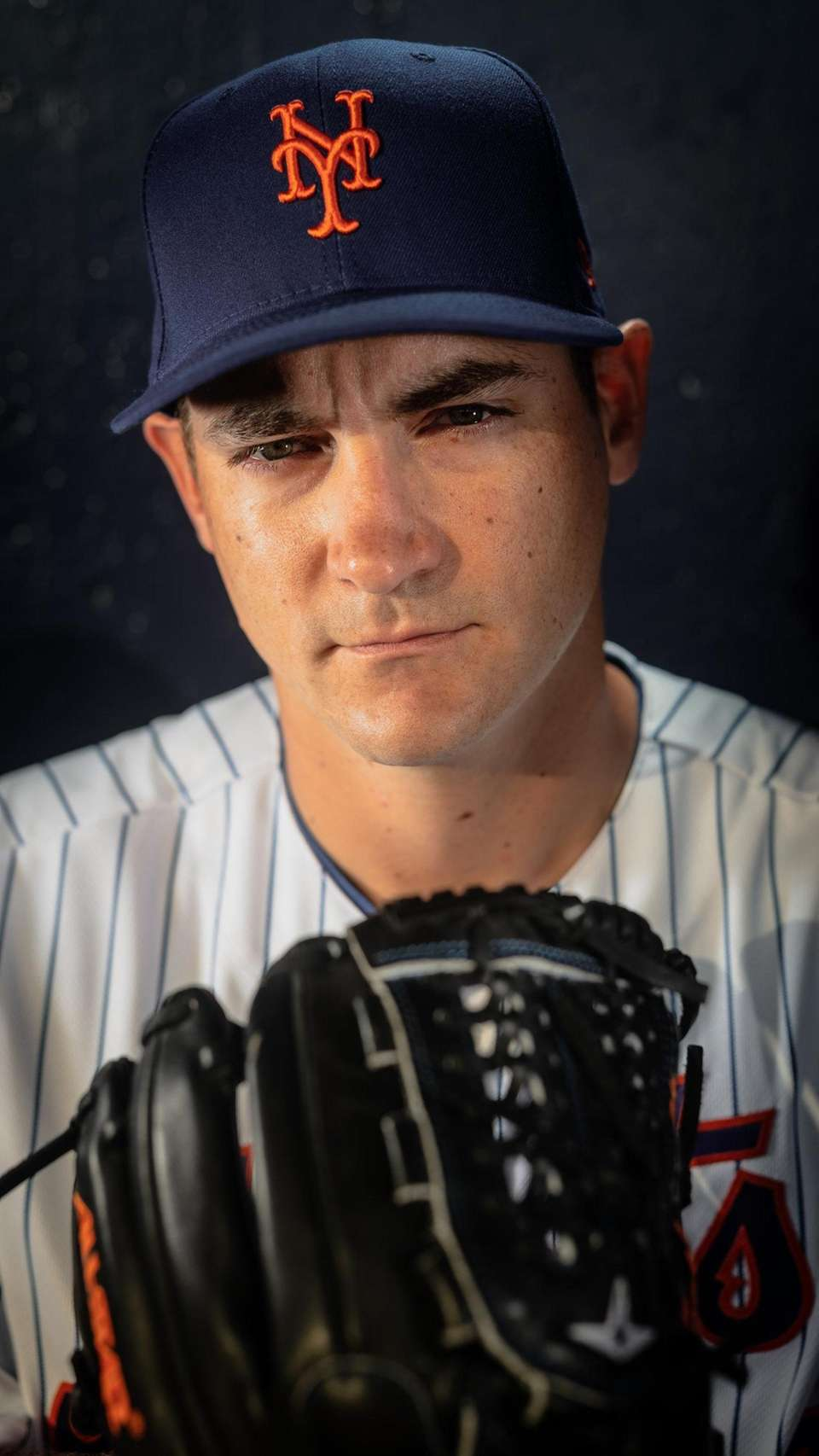 New York Mets pitcher Seth Lugo during spring