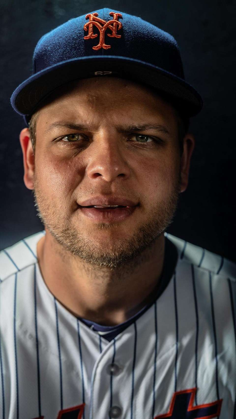 New York Mets catcher Devin Mesoraco during spring