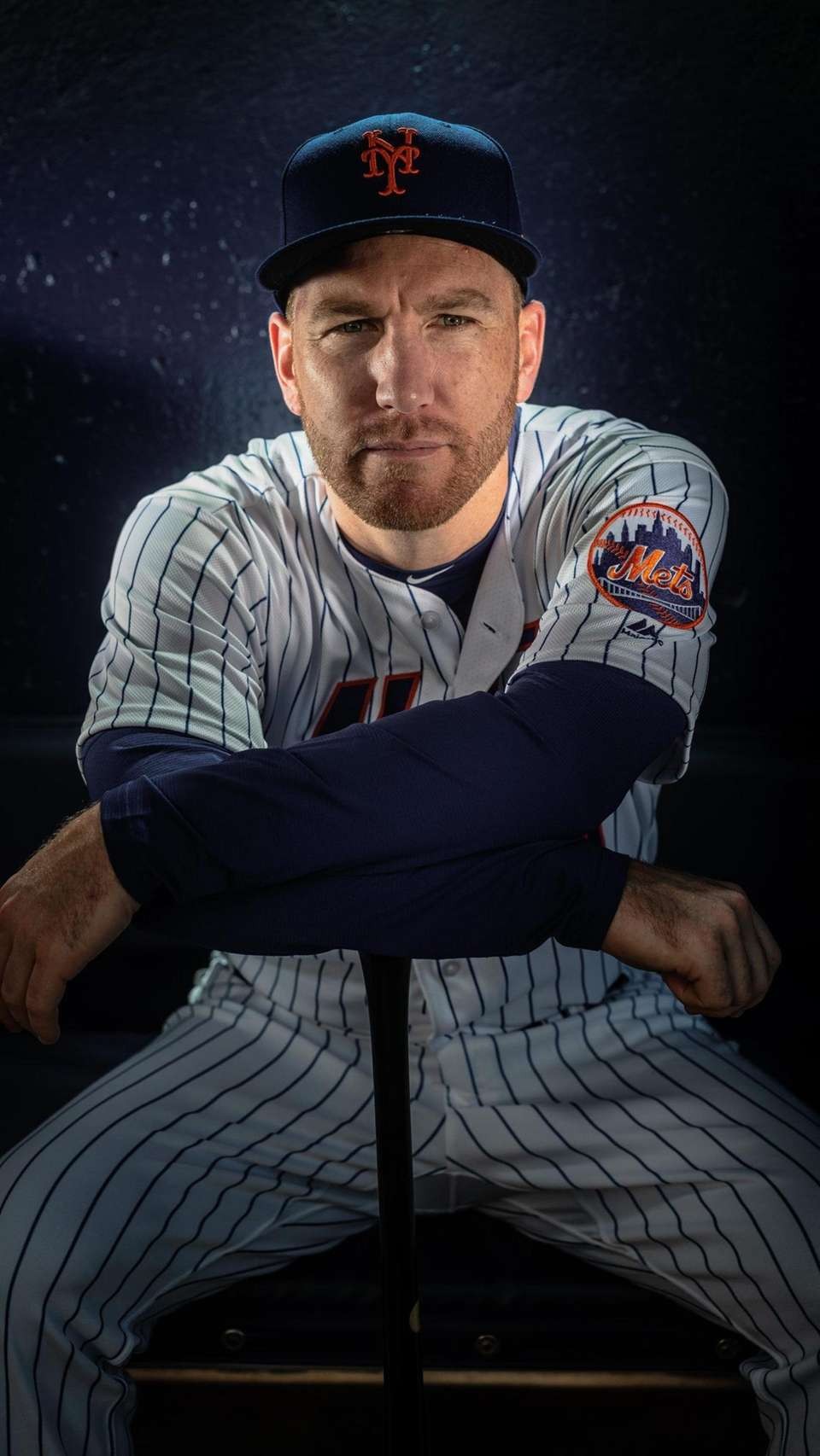 New York Mets infielder Todd Frazier during spring