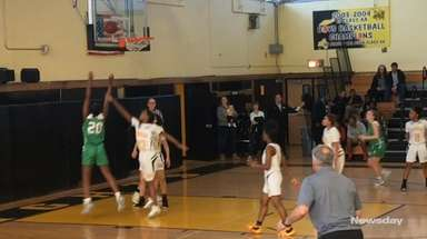 Farmingdale defeated Uniondale, 65-53, in a girls basketball