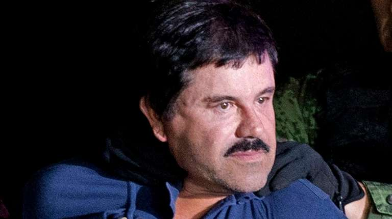 "Drug lord Joaquin ""El Chapo"" Guzmán Loera is"