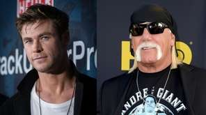 Chris Hemsworth, left, is reportedly set to play