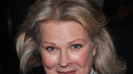 Actress Candice Bergen attends the premiere of Julian