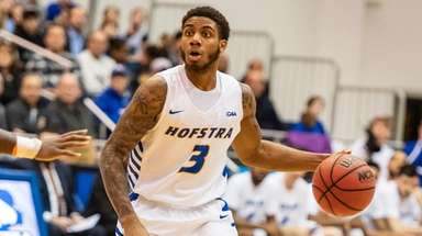 Hofstra Pride guard Justin Wright-Foreman looks to make